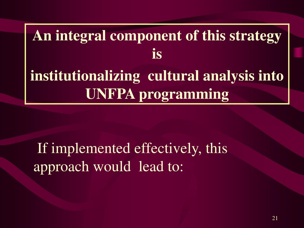 If implemented effectively, this approach would  lead to: