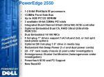 poweredge 2550