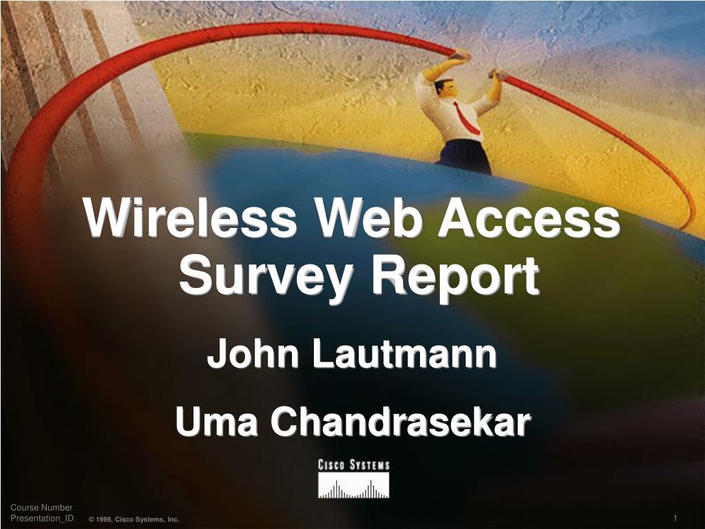 wireless web access survey report l.