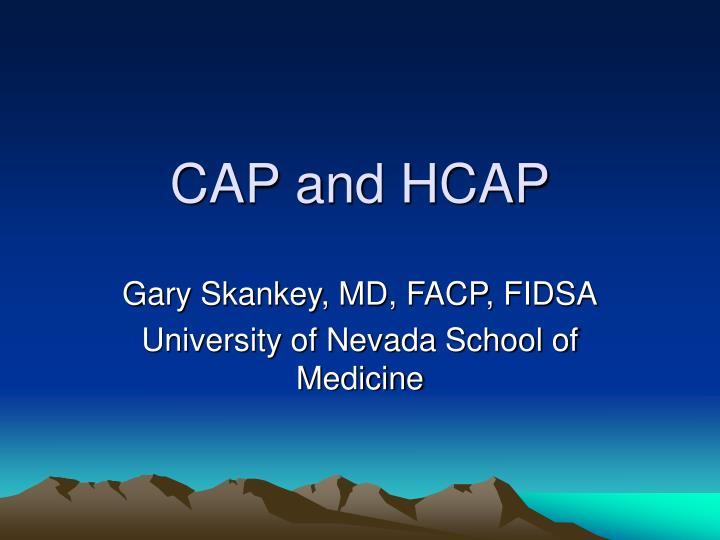 cap and hcap n.