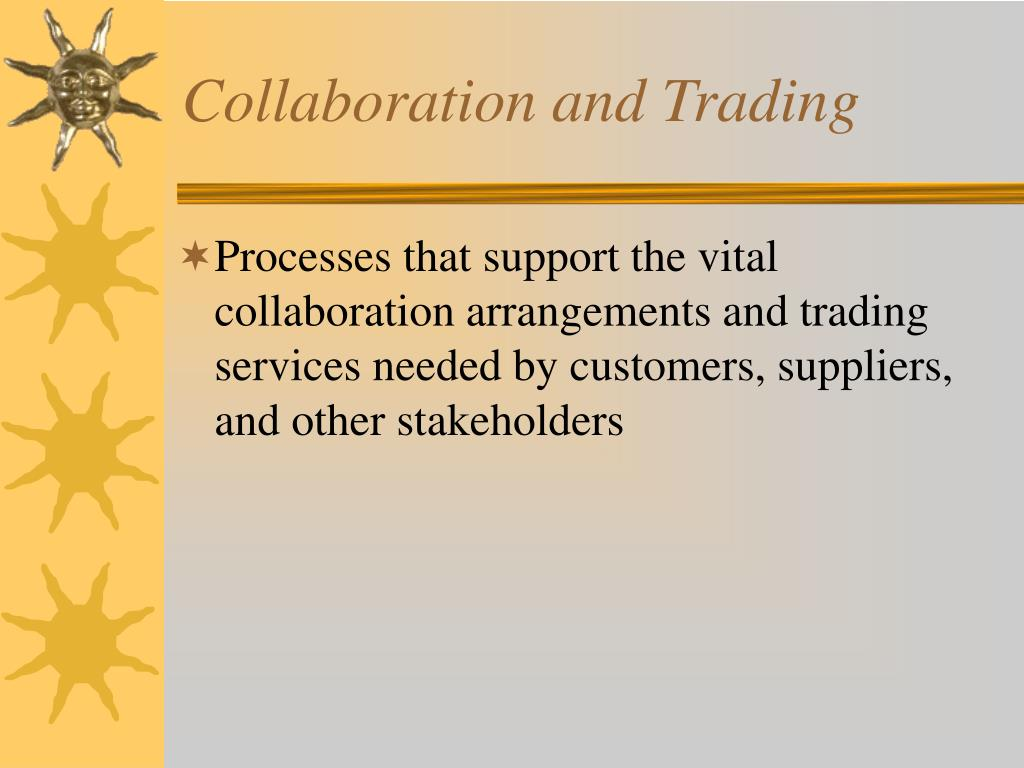 Collaboration and Trading