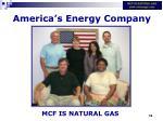 america s energy company