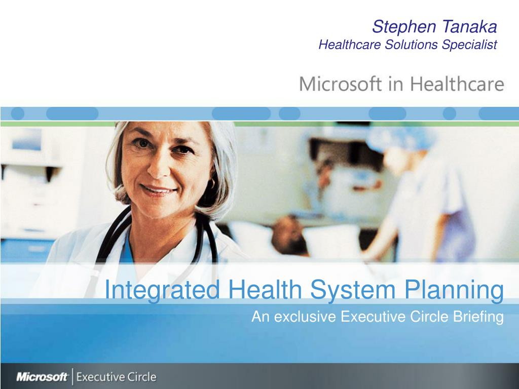 integrated health system planning l.