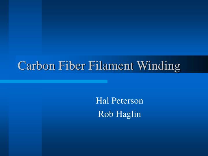 carbon fiber filament winding n.