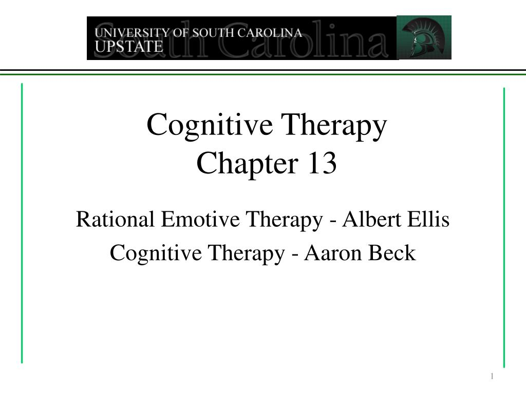 cognitive therapy chapter 13 l.