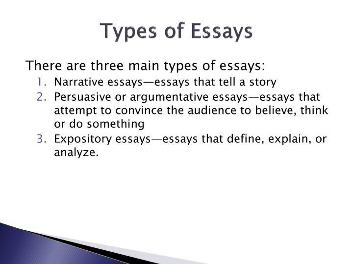 History of descriptive essay