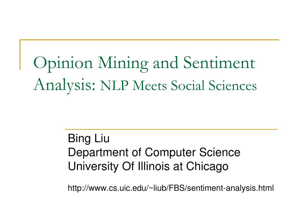 opinion mining and sentiment analysis nlp meets social sciences l.