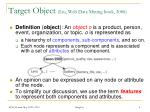 target object liu web data mining book 2006
