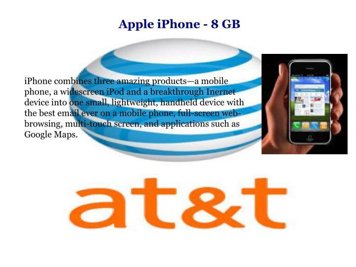 Apple iPhone - 8 GB