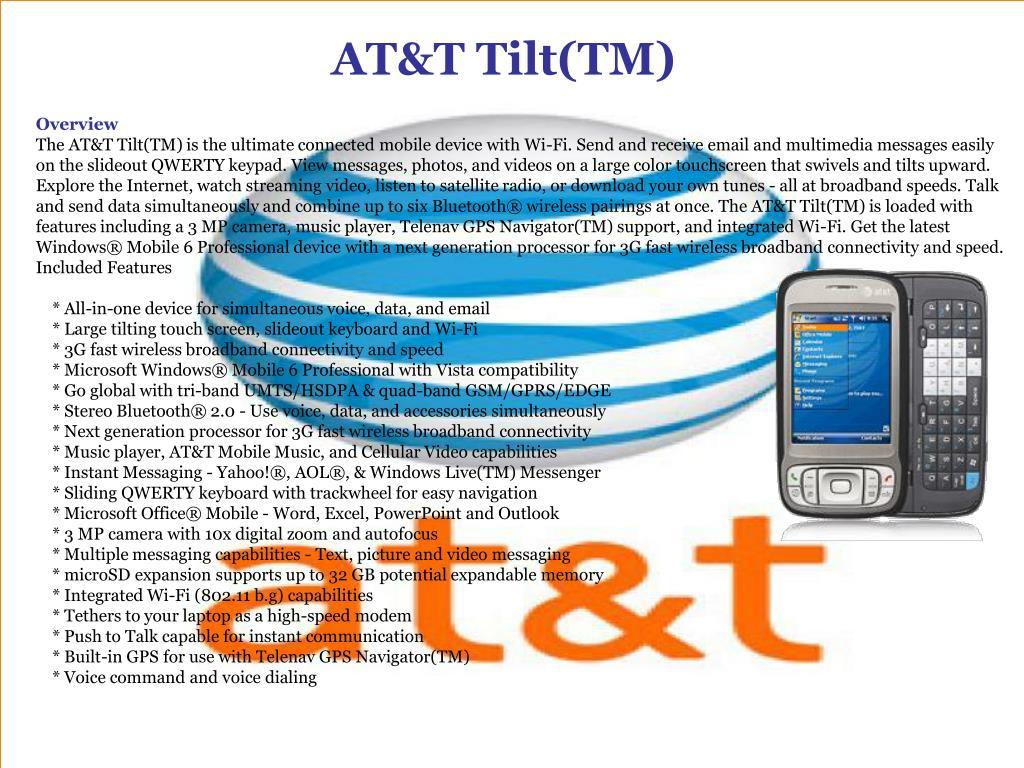 AT&T Tilt(TM)