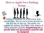 how to apply for a parking permit10