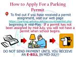 how to apply for a parking permit11