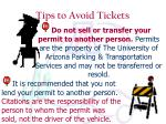 tips to avoid tickets6