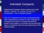 interstate compacts14
