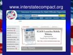 www interstatecompact org