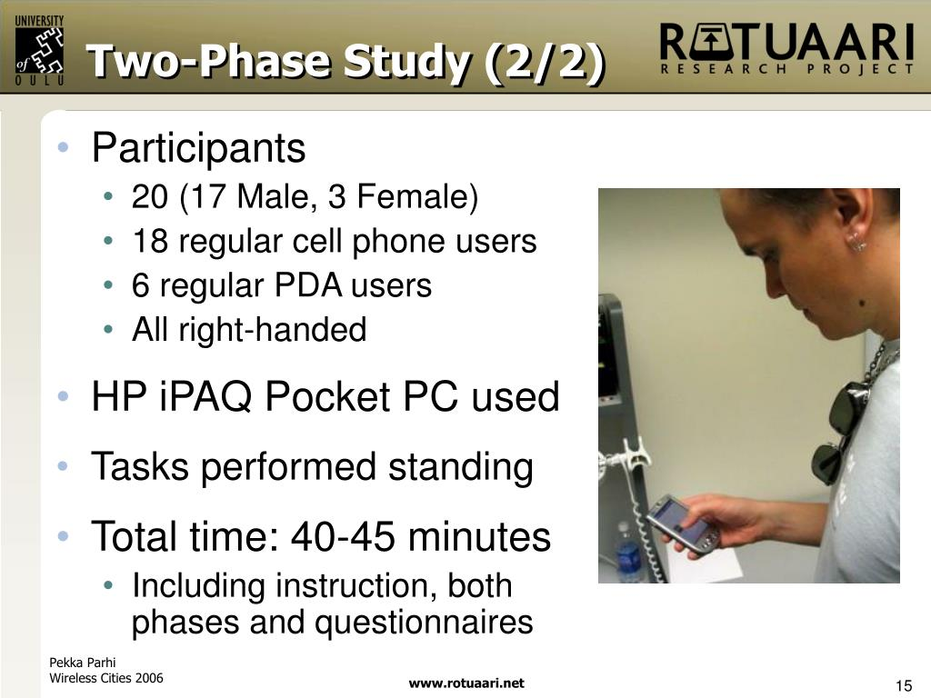 Two-Phase Study (2/2)