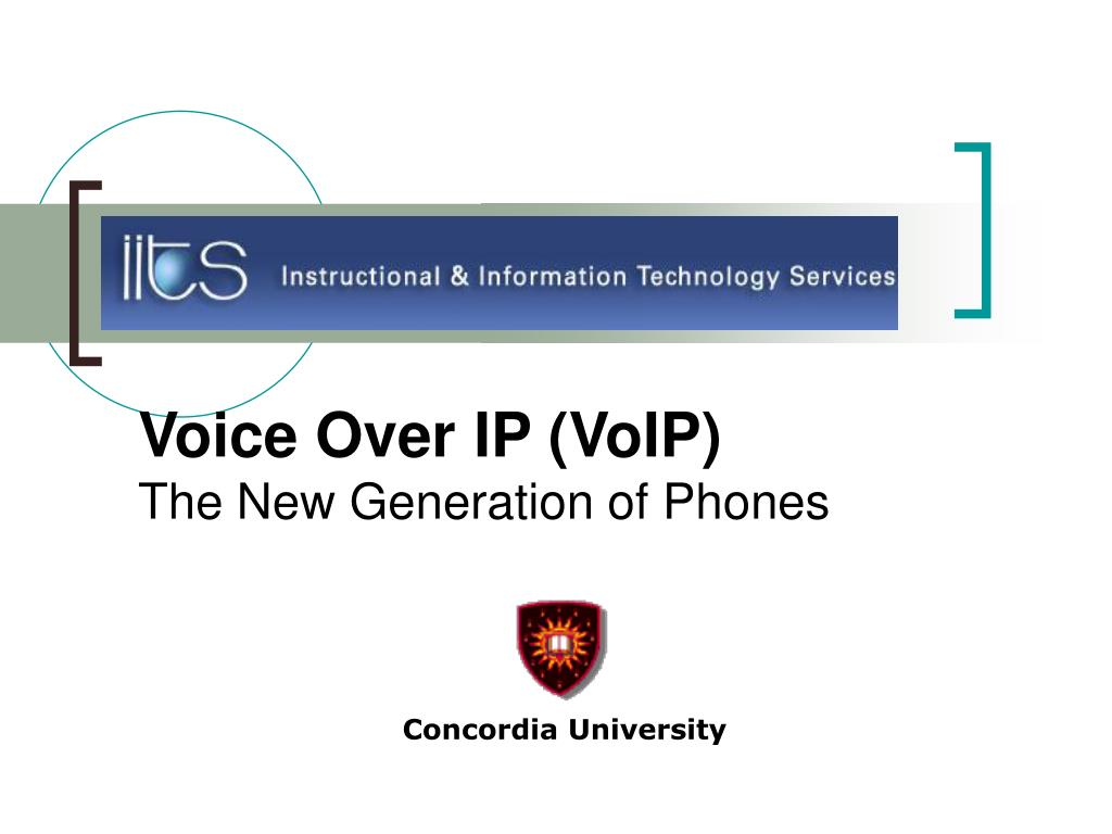 voice over ip voip the new generation of phones l.