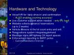 hardware and technology