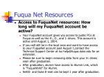 fuqua net resources
