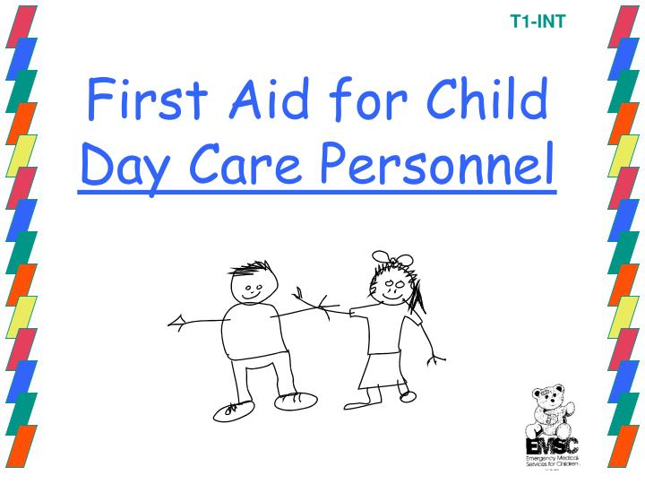 first aid for child day care personnel n.