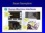 smart snowplow