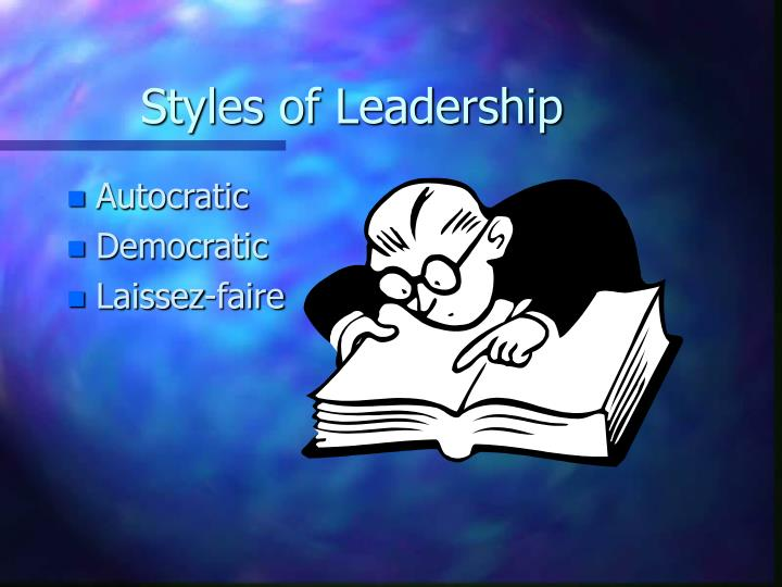 leadership style autocratic democratic laissez faire Kurt lewin's model expresses this range of styles in relatively simple terms, from authoritarian or autocratic, through democratic or participative, to delegating or laissez faire transformational leadership is the best approach for most situations.