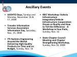 ancillary events