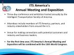 its america s annual meeting and exposition