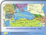 privileged geographical position europa asia