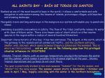 all saints bay ba a de todos os santos
