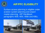 aip pfc eligibility