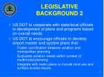 legislative background 2