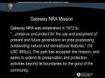 gateway nra mission
