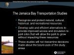 the jamaica bay transportation studies