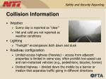 collision information59
