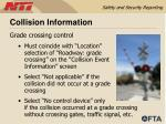 collision information61
