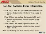 non rail collision event information36