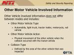 other motor vehicle involved information54