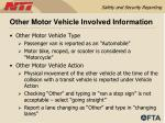 other motor vehicle involved information55