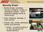 security event
