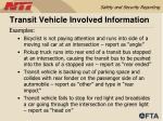 transit vehicle involved information50