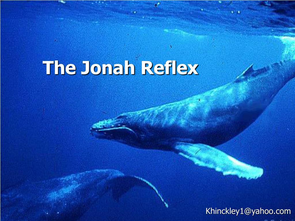 the jonah reflex l.