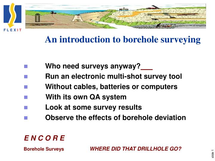 an introduction to borehole surveying n.