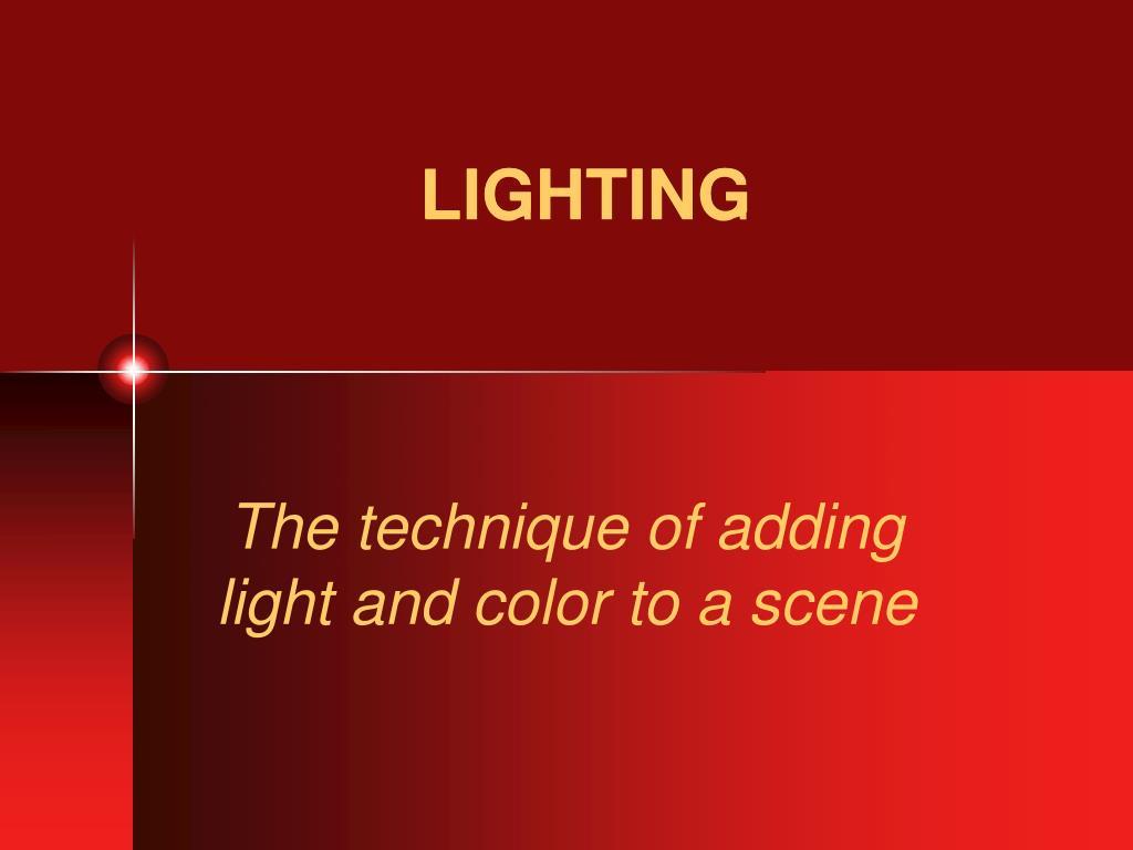 lighting l.