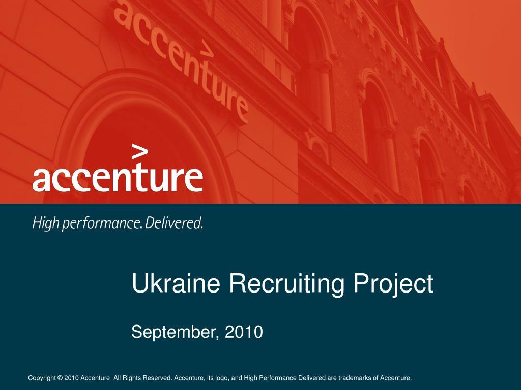 ukraine recruiting project l.