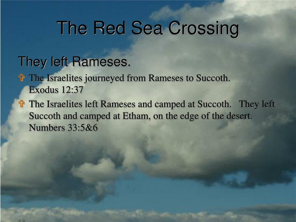 The Red Sea Crossing