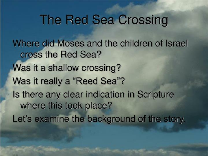 The red sea crossing2
