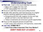 understanding cash