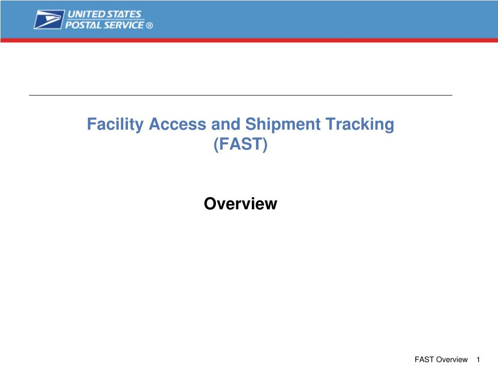 facility access and shipment tracking fast overview l.