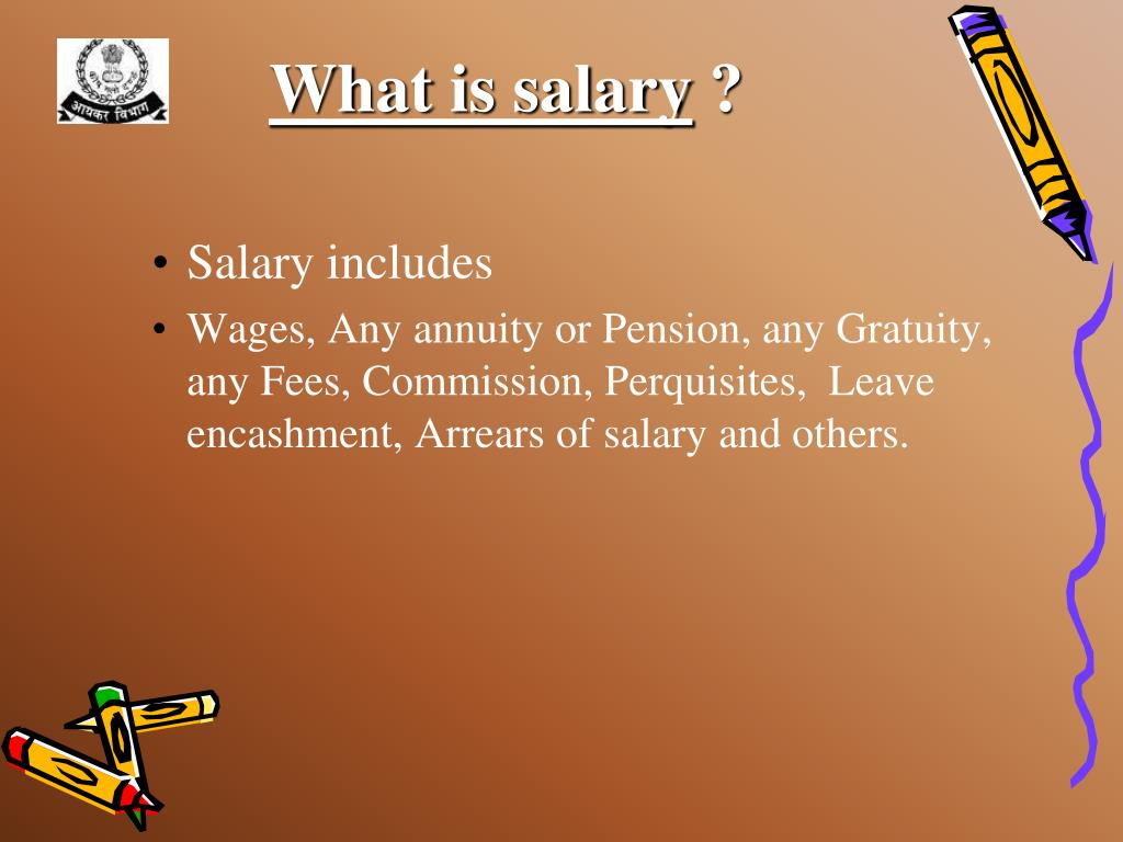 What is salary